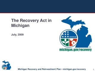 The American Recovery and Reinvestment Act Recovery Act