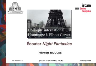 Écouter  Night Fantasies