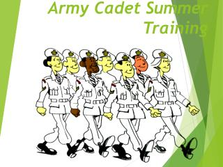 Army Cadet Summer Training