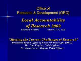 "Research Compliance Officers (RCO) Face  ""Many New Requirements and Challenges"""