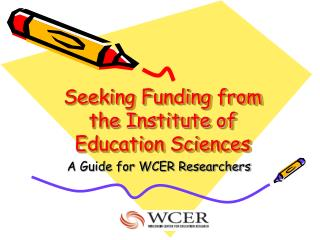 Seeking Funding from the Institute of Education Sciences