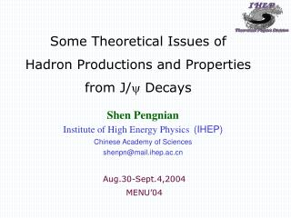 Some Theoretical Issues of  Hadron Productions and Properties  from J/   Decays