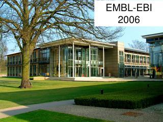 EMBL-EBI  2006