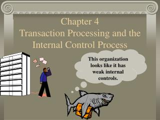 Chapter 4 Transaction Processing and the Internal Control Process