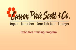 Executive Training Program