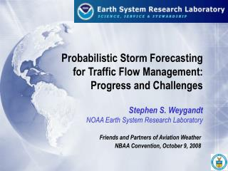 Probabilistic Storm Forecasting   for Traffic Flow Management: Progress and Challenges