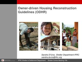 Owner-driven Housing Reconstruction Guidelines (ODHR)
