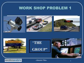 WORK SHOP PROBLEM 1