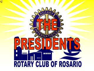 ROTARY CLUB OF ROSARIO