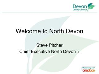 Welcome to North Devon