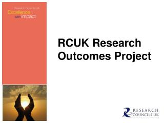RCUK Research Outcomes Project