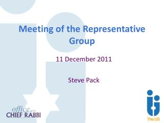 Meeting of the Representative Group