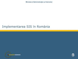SCHENGEN ROMANIA