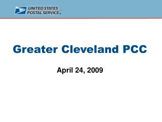Greater Cleveland PCC April 24, 2009