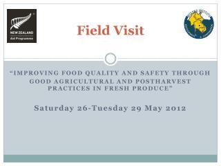 Field Visit
