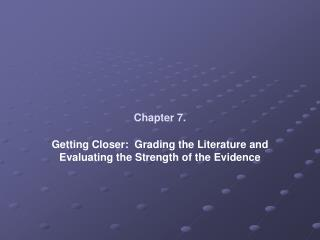 Chapter 7.