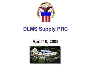 DLMS Supply PRC