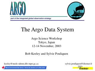 The Argo Data System