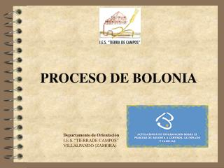 PROCESO DE BOLONIA