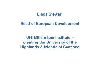 Population of the Highlands & Islands
