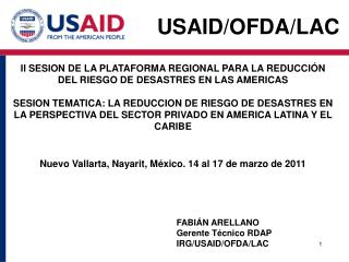 Usaid / ofda/lac