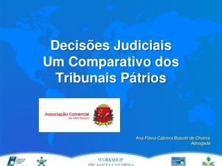 Decisões Judiciais  Um Comparativo dos Tribunais Pátrios