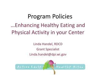 Program Policies