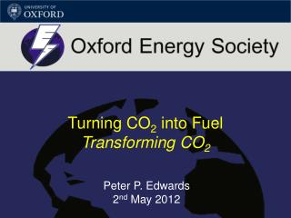 Turning CO 2  into Fuel Transforming CO 2