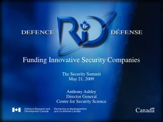 Canadian Defence and Security S&T