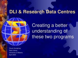 DLI & Research Data Centres