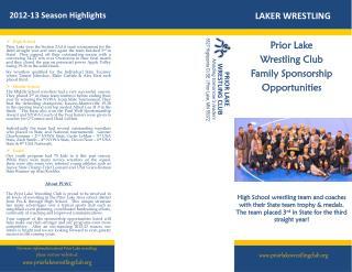 2012-13 Season Highlights