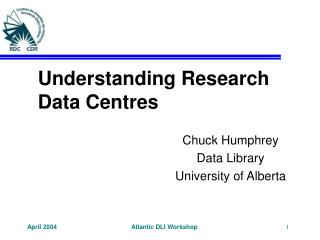 Understanding Research Data Centres