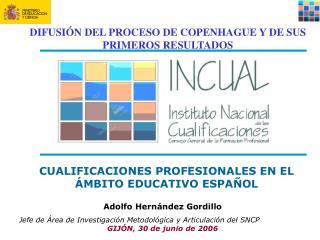 Adolfo Hernández Gordillo Jefe de Área de Investigación Metodológica y Articulación del SNCP