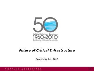 Future of Critical Infrastructure