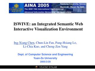 ISWIVE: an Integrated Semantic Web Interactive Visualization Environment