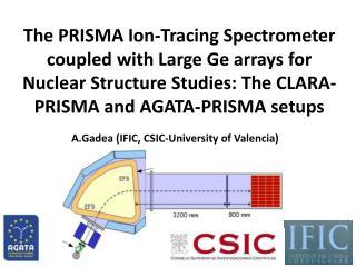 A.Gadea (IFIC, CSIC-University of Valencia)