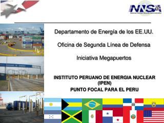 Departamento de Energía de los EE.UU. Oficina de Segunda Línea de Defensa Iniciativa  Megapuertos