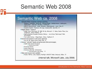 Semantic Web 2008