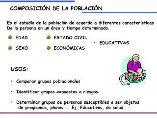 COMPOSICIÓN DE LA POBLACIÓN
