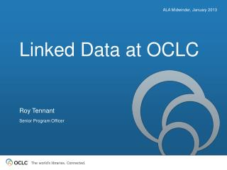 Linked Data at OCLC