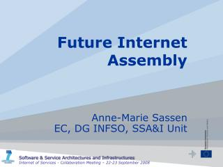Future Internet Assembly
