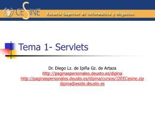 Tema 1- Servlets