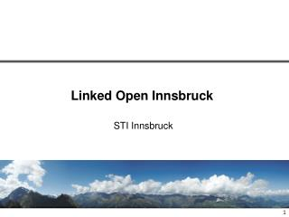 Linked Open Innsbruck