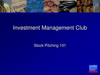 Investment Management Club