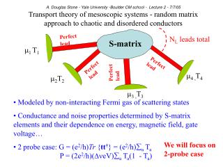 Modeled by non-interacting Fermi gas of scattering states