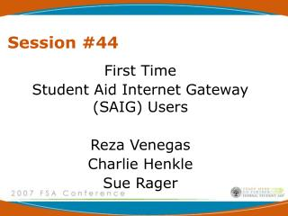 Session #44