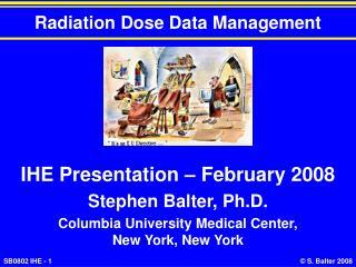 Radiation Dose Data Management