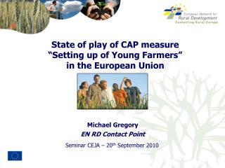 Seminar CEJA – 20 th  September 2010