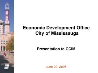 Economic Development Office  City of Mississauga