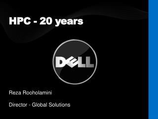 HPC - 20 years